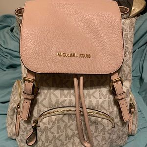 Michael Kors Beacon Medium Nylon Backpack